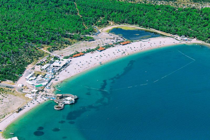 Zrce Beach Croatia Hotels