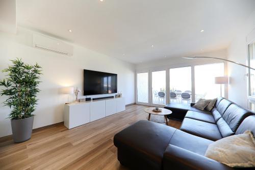 Villa-Pag - Wohnzimmer mit Meerblick